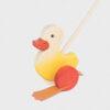 kaczka do pchania • żółta