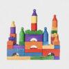 klocki konstrukcyjne • kolorowe • 42 elementy
