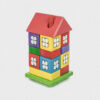 domek z klocków • kolorowy