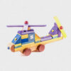 helikopter z klocków • kolorowy • duży