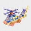 helikopter z klocków • kolorowy • mini