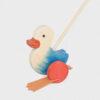 kaczka do pchania • niebieska